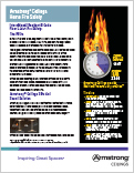 Armstrong Ceilings Home Fire Safety