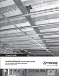 Residential Drywall Grid Ceiling Framing System