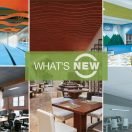 New Introductions from Armstrong Ceiling Systems Offer Linear Wave Designs, Monolithic Visuals, Color, and Excellent Acoustics