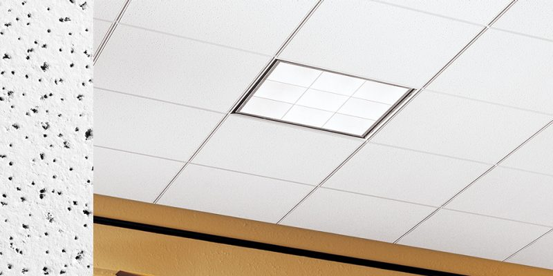School Zone Fine Fissured 1719 Armstrong Ceiling