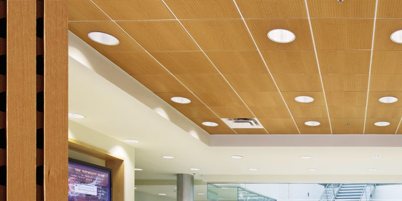 Woodworks Channeled Teg Armstrong Ceiling Solutions