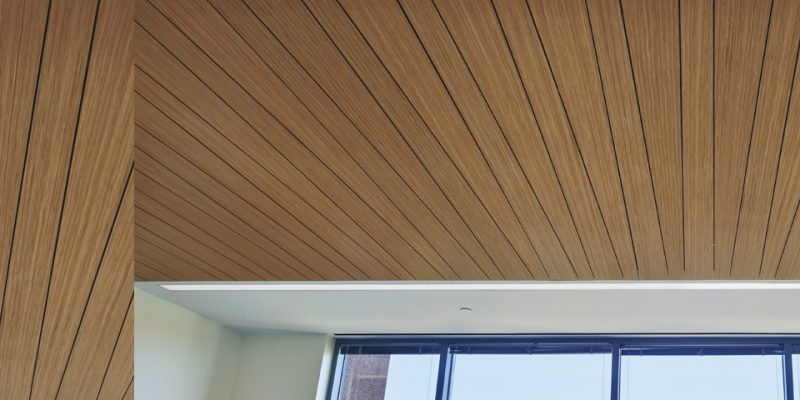 Woodworks Linear Veneered Panels Armstrong Ceiling