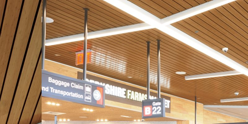Woodworks Linear Veneered Planks Armstrong Ceiling