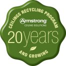 Armstrong Ceiling Recycling Program Garners Envrionmental Leader Top Product Award
