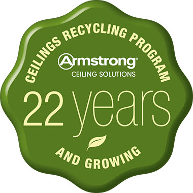 Armstrong Ceilings Recycling Program