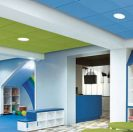 New Colorations Ceiling System from Armstrong Integrates Color and Acoustics