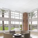 New LYRA Vector Panels from Armstrong Ceilings Offer Smooth, White Monolithic Visual for Limited Plenum Spaces