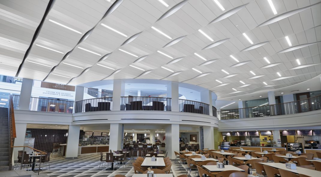 Armstrong Student Center at Miami University - METALWORKS RH215