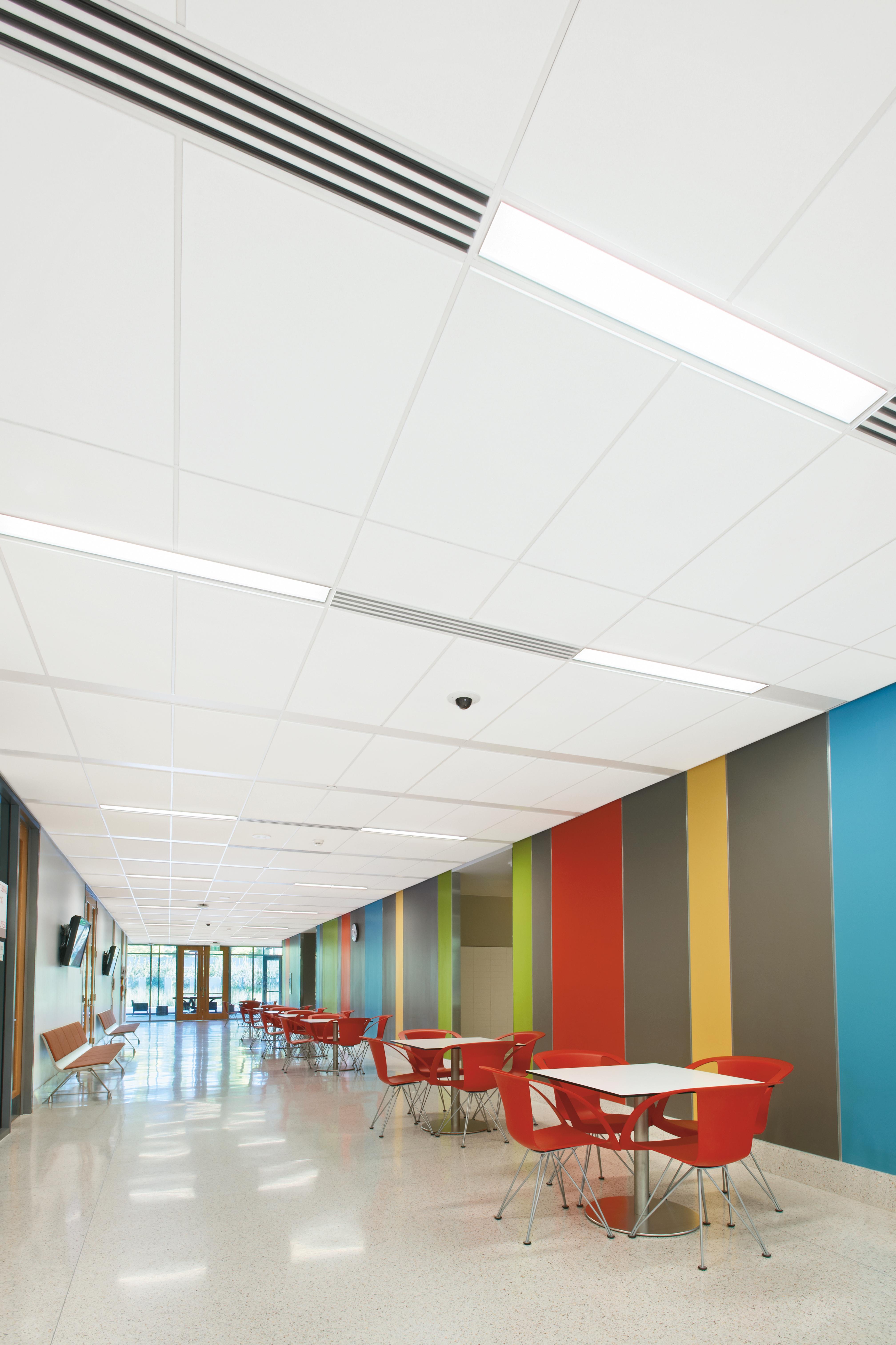 Cute 12X12 Cork Floor Tiles Big 18 X 18 Ceramic Floor Tile Regular 2 Inch Hexagon Floor Tile 2 X 12 Subway Tile Old 2 X 4 Ceiling Tiles Dark2 X 4 Subway Tile Linear Lighting Integration | Armstrong Ceiling Solutions \u2013 Commercial