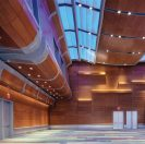 WOODWORKS Custom Ceilings and Walls System - Virginia Beach Convention Center