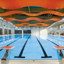 Serpentina Ceiling System from Armstrong Now Available for Indoor Pool Applications