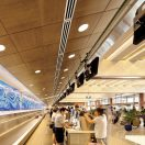 Honolulu International Airport - METALWORKS Vector in Wood Effects
