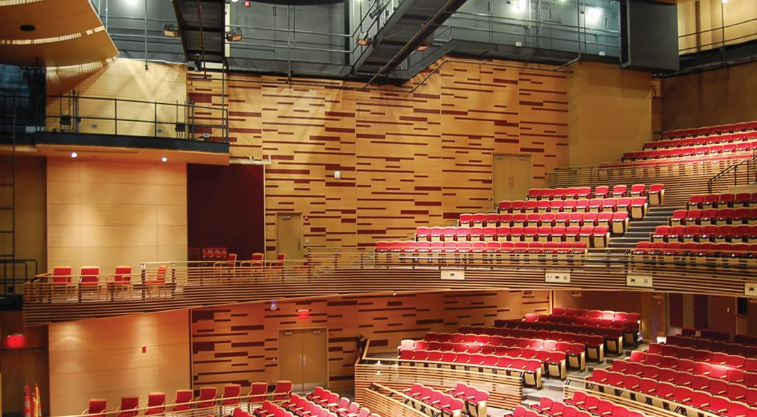 ACGI Custom Linear Walls - Pittsburg State University