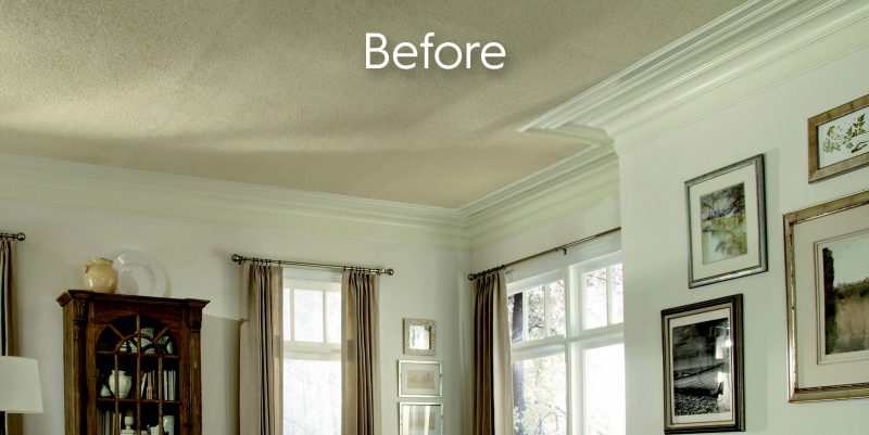 High Quality Easily Cover Popcorn Ceilings With Surface Mount Options