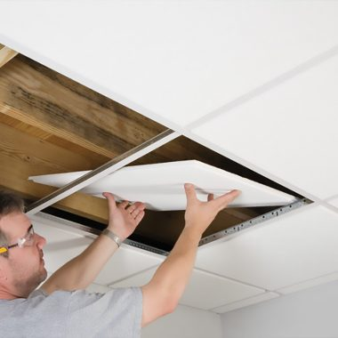 How To Install Armstrong Suspended Ceiling Grid