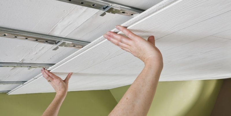 Tongue And Groove Ceiling Installation