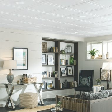 suspended ceiling systems | armstrong ceilings residential