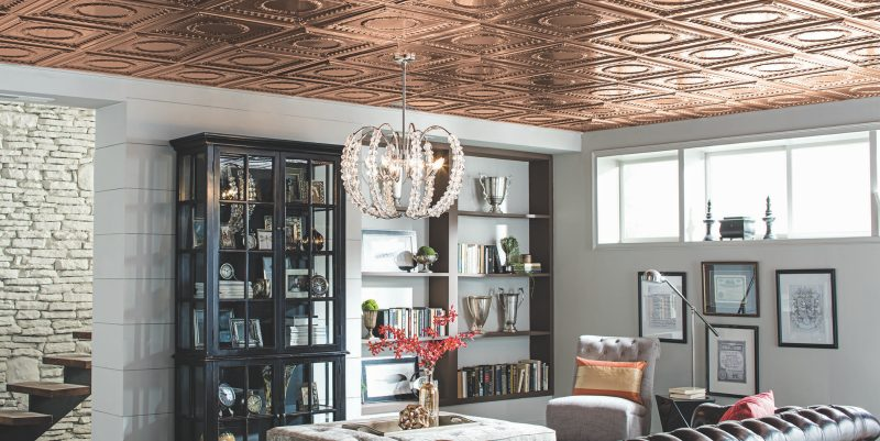 Get The Look Of A Copper Ceiling In Any E