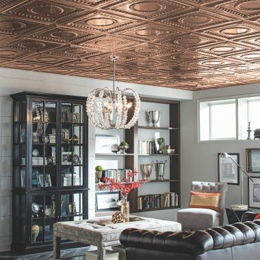 Get the Look of a Copper Ceiling In Any Space