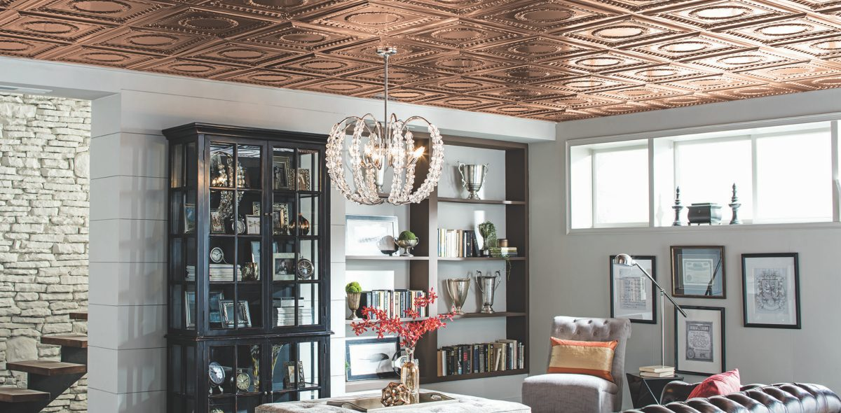 Good Get The Look Of A Copper Ceiling In Any Space