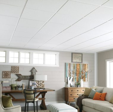 Acoustic Drop Ceiling Tiles & Drop Down Ceiling | Armstrong Ceilings Residential