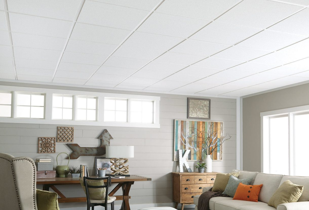 Living Room Ceiling Ideas | Armstrong Ceilings Residential