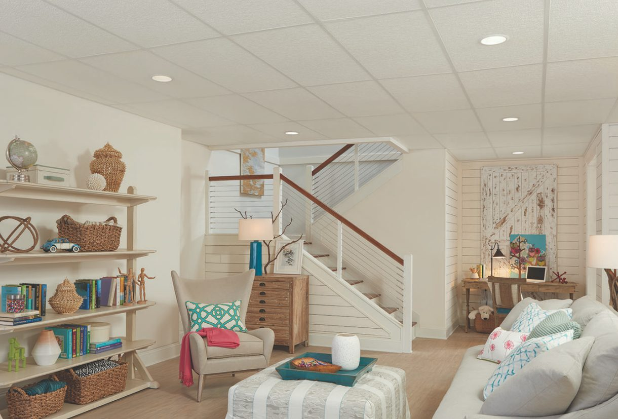 Basement Ideas | Armstrong Ceilings Residential