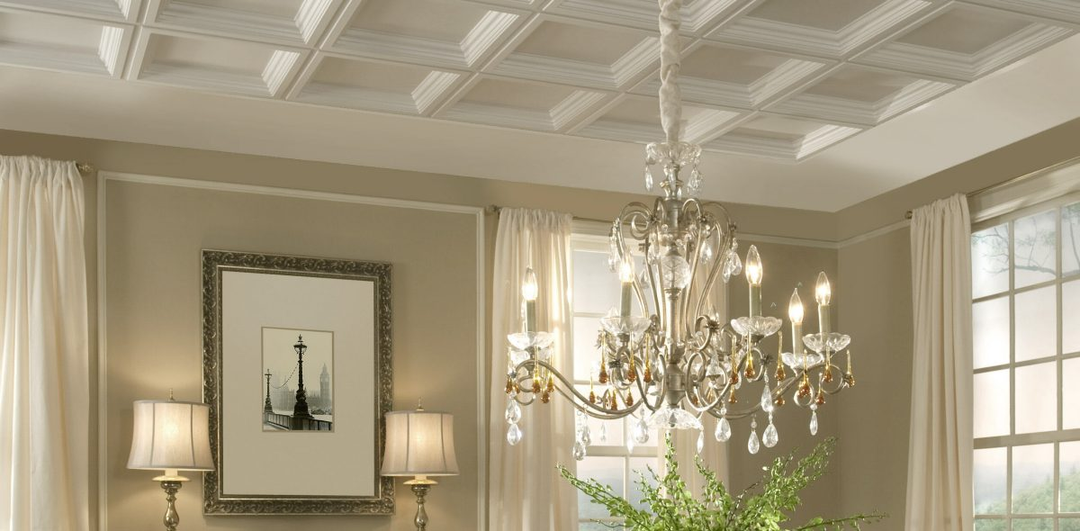 Decorating With Plastic Pvc Ceiling Tiles