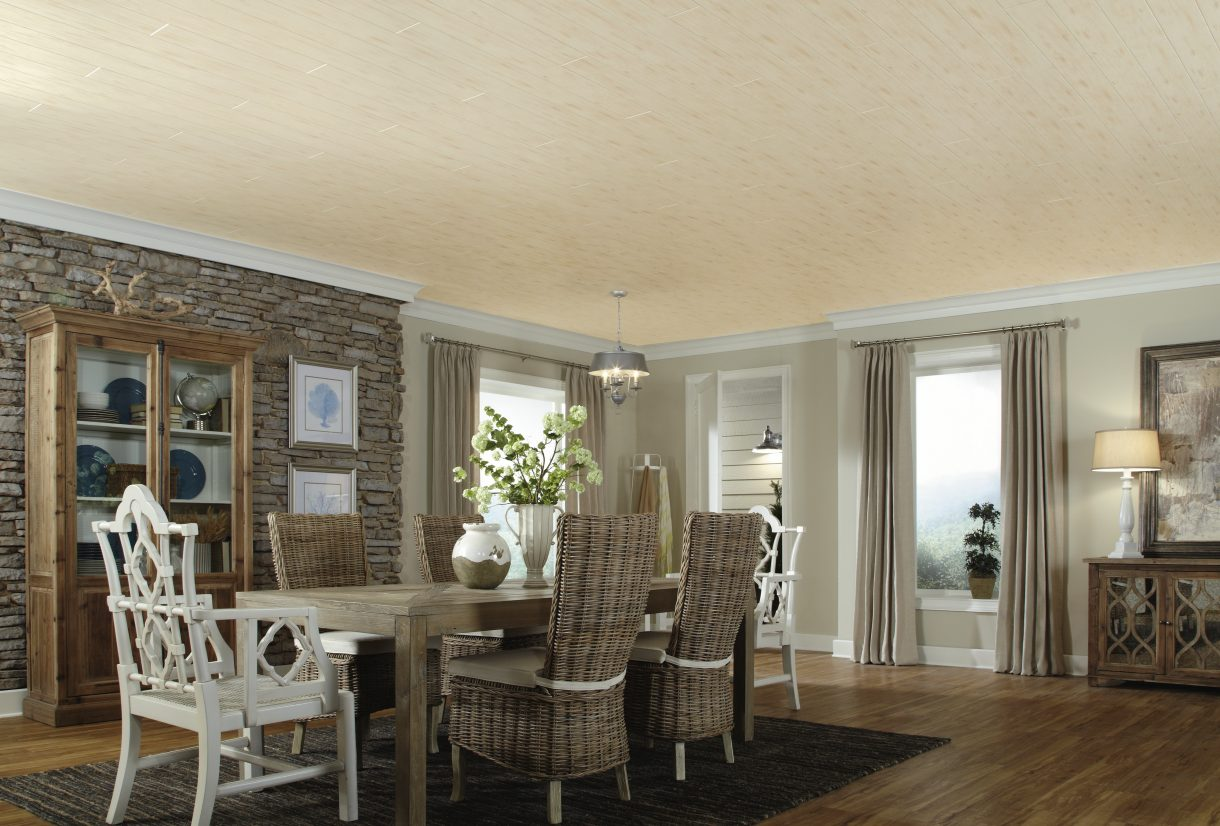 Dining room decorating ideas armstrong ceilings residential for Armstrong design a room
