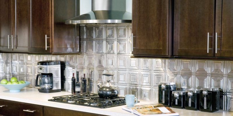 Kitchen panels backsplash for Dosseret aluminium cuisine