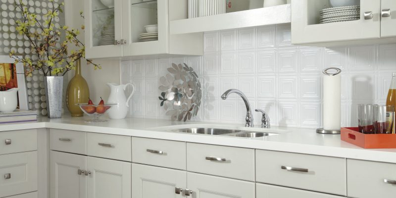 Tin Tile Backsplash | Ceilings | Armstrong Residential