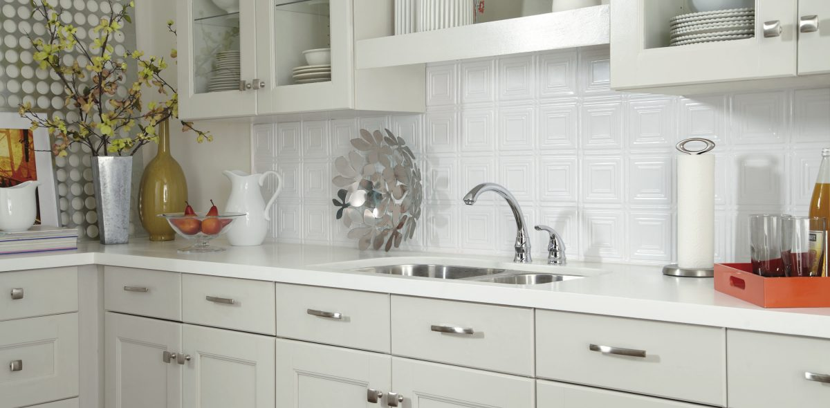 Attractive 6 Ways To Use A Tin Tile Backsplash