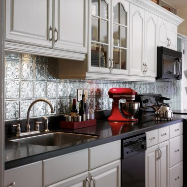 Tin Tile Backsplash Ceilings Armstrong Residential