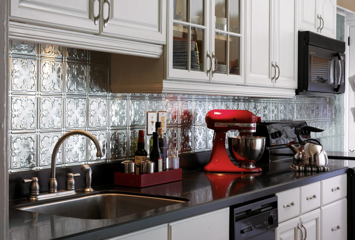 tin tiles for kitchen backsplash tin backsplash tiles armstrong ceilings residential 26044