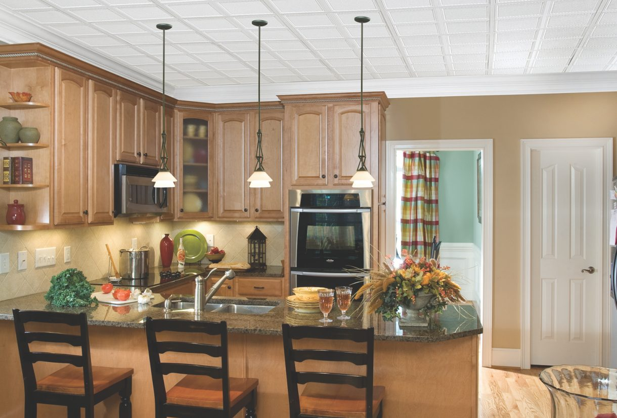 Decorative suspended ceilings armstrong ceilings residential decorative suspended ceilings featured media image dailygadgetfo Gallery