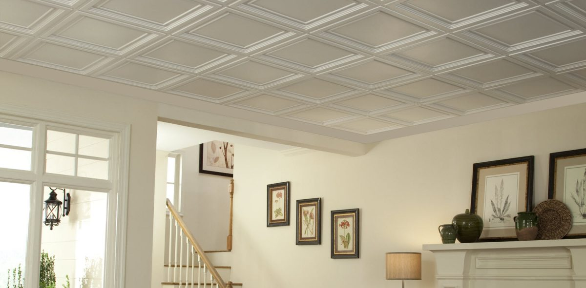 Easy Elegance Coffered Ceiling Installation Cost
