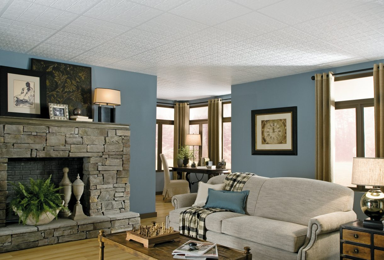 plafond suspendu armstrong ceilings residential. Black Bedroom Furniture Sets. Home Design Ideas