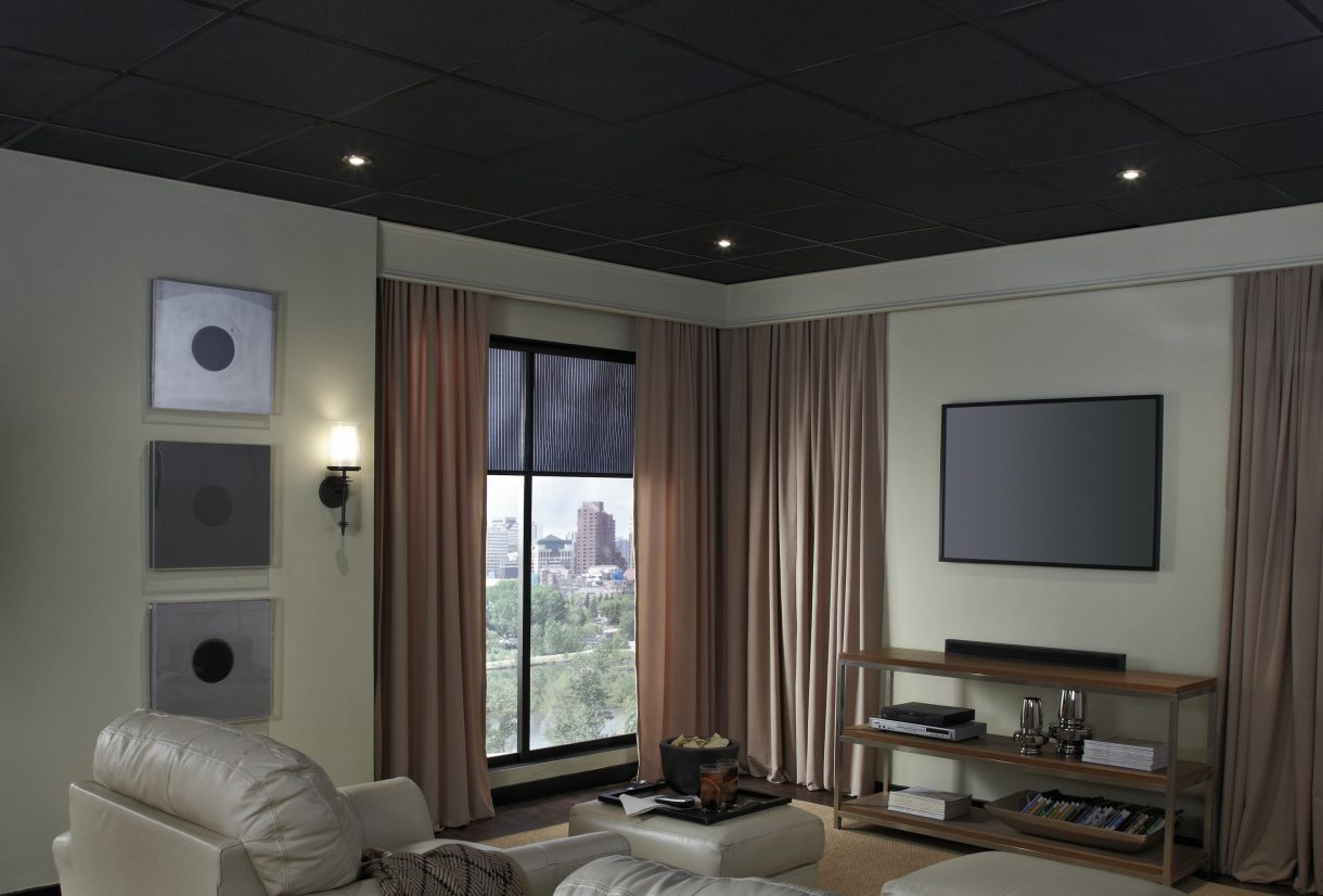 Black Ceiling Tiles Armstrong Ceilings Residential