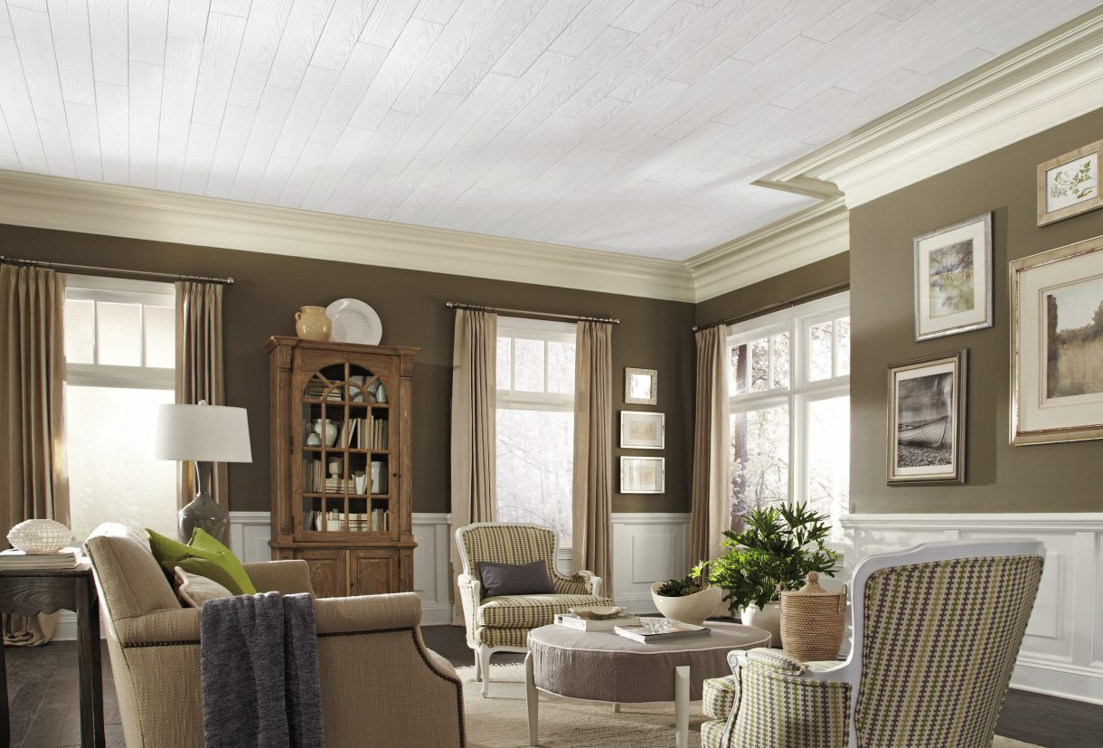 Installing ceiling tiles armstrong ceilings residential easily cover popcorn ceilings with surface mount options dailygadgetfo Image collections