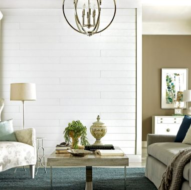 Upscale Farmhouse with Shiplap Walls