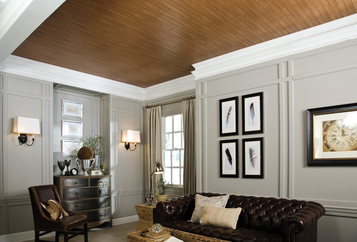 tongue and groove ceiling planks | armstrong ceilings residential