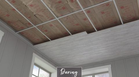 Cover A Drop Ceiling Ceilings
