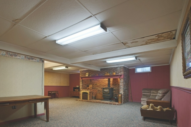 Your ugly basement ceiling. & Cover a Drop Ceiling | Armstrong Ceilings Residential