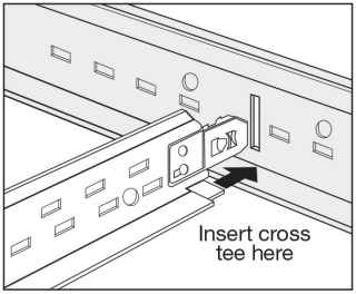 snap-in cross see drawing
