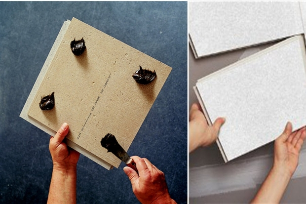 Ceiling Tile Adhesive Follow The Manufacturer S Instructions For Lication And Usage Keep In Mind That When Using This Installation Method