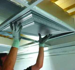 Installing METALLAIRE Drop Ceilings