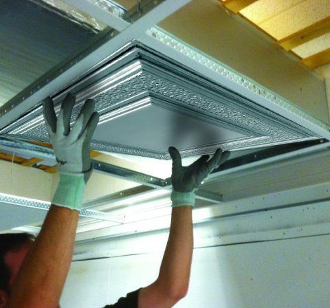 Coût Dinstallation Dun Plafond En Métal Armstrong Ceilings